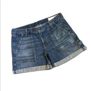 Rag & Bone Denim Cuffed Shorts